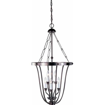 Minster 6-Light Foyer Pendant Finish: Antique Bronze