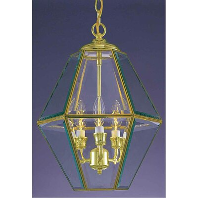 3-Light Foyer Pendant Finish: Polished Brass
