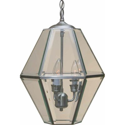 3-Light Foyer Pendant Finish: Brushed Nickel