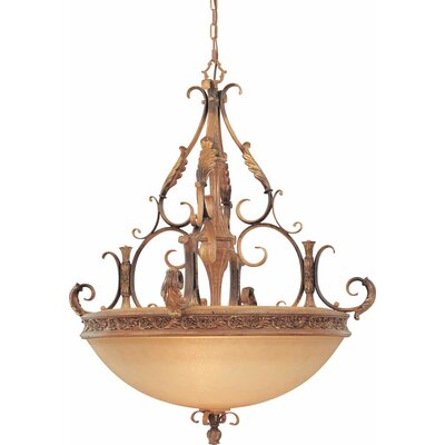 Venetian 5-Light Bowl Pendant