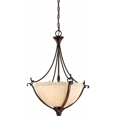 Michele 3-Light Bowl Pendant