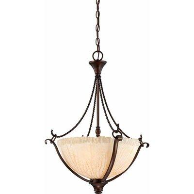 Michele 3-Light Bowl Pendant