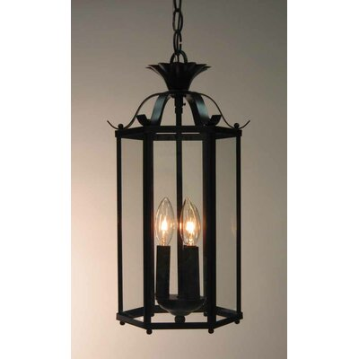 Roth 3-Light Pendant or Semi Flush Mount Finish: Antique Bronze