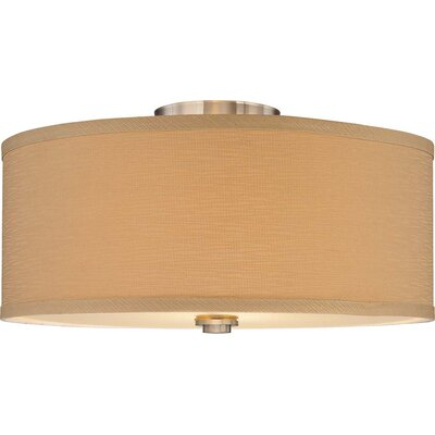 Calare 2-Light Semi Flush Mount