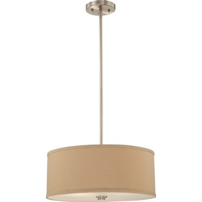 Calare 2-Light Drum Pendant