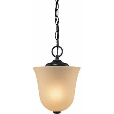 Hammond 1-Light Bowl Pendant or Semi Flush Mount
