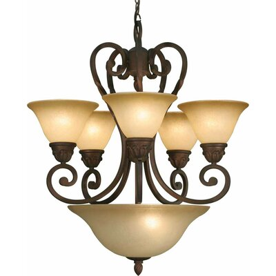 Isabela 7-Light Candle-Style Chandelier