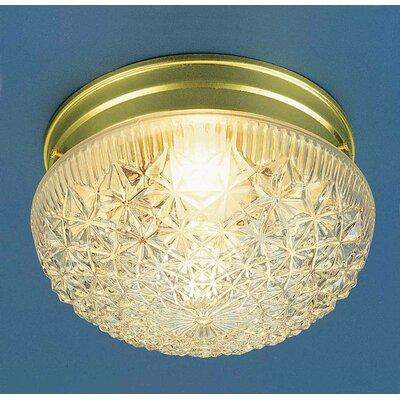 1-Light Ceiling Fixture Flush Mount V7016-2