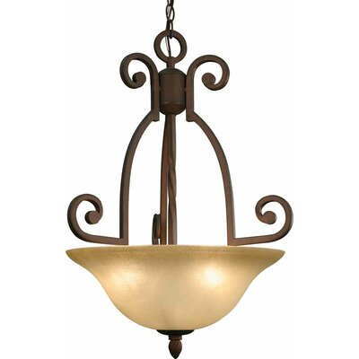 Isabela 3-Light Mini Chandelier