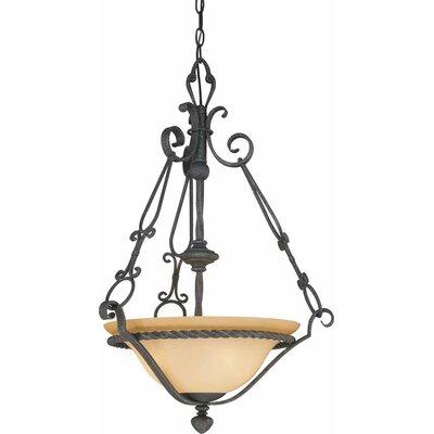 Sevila 3-Light Bowl Pendant