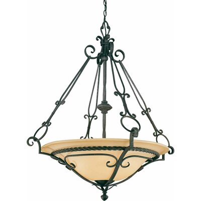 Sevila 4-Light Bowl Pendant