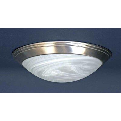 1-Light Ceiling Fixture Flush Mount V7550-33