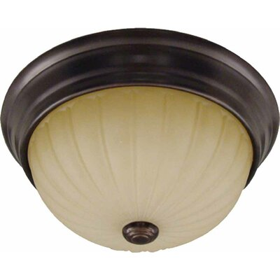 Troy 1-Light Semi Flush Mount