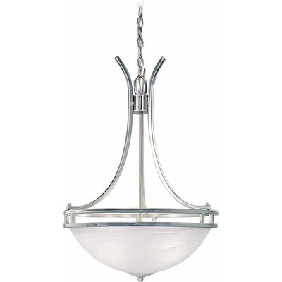 Chicago 4-Light Bowl Pendant