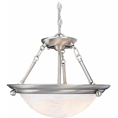 Lunar 4-Light Bowl Pendent