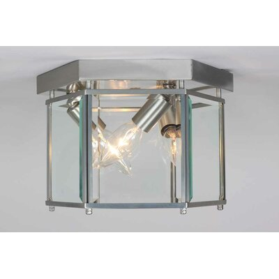 Kinsley 3-Light Ceiling Fixture Flush Mount