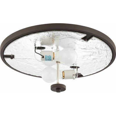 Esprit 2-Light Ceiling Fixture Flush Mount Finish: Antique Bronze