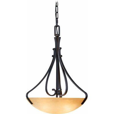 Rainier 3-Light Bowl Pendant
