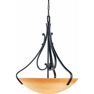 Rainier 4-Light Bowl Pendant