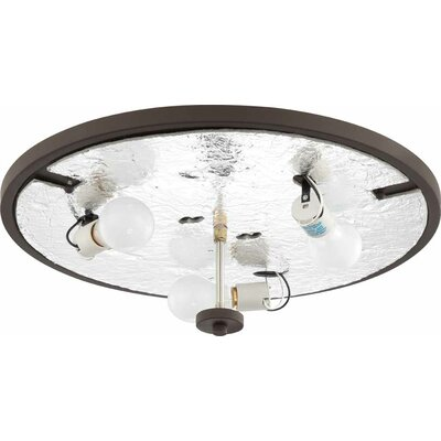 Esprit 3-Light Ceiling Fixture Flush Mount Finish: Antique Bronze