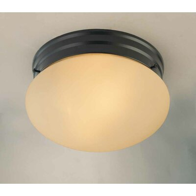Troy 2-Light Semi Flush Mount
