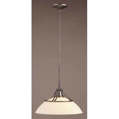 Gallery 1-Light Mini Pendant Size: 7.75 H x 15.5 W x 15.5 D