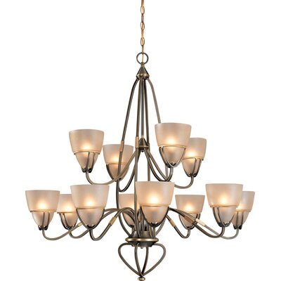 Gallery 12-Light Candle-Style Chandelier