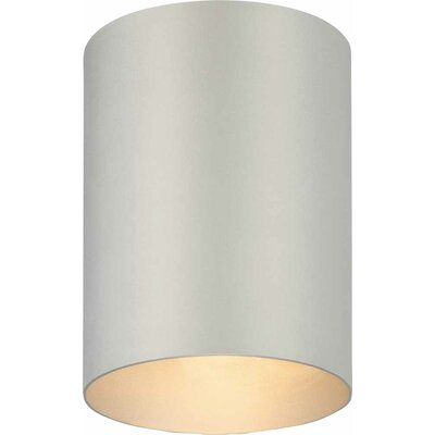Rangeworthy 1-Light Flush Mount Finish: Silver Gray