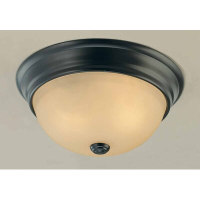 Minster 2-Light Ceiling Fixture Flush Mount