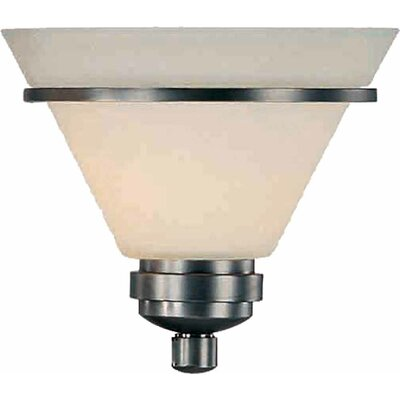 8.5 Glass Empire Wall Sconce Shade Shade Color: Ivory