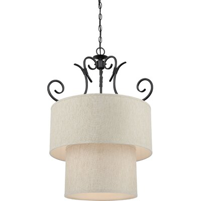 Fairfield 8-Light Drum Chandelier
