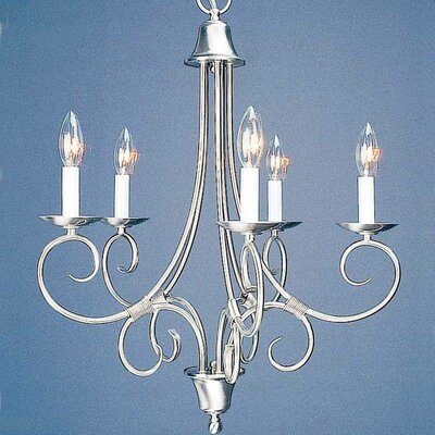 Rhodes 5-Light Candle-Style Chandelier