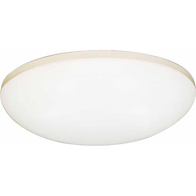 1-Light Flush Mount Size: 3 H x 11 W x 11 D