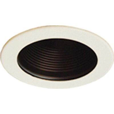 Baffle 5 Recessed Trim Finish: Black
