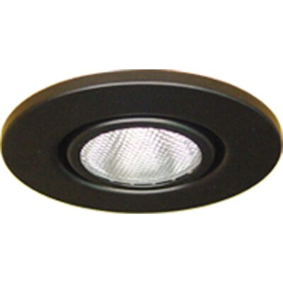 Gimbal Ring 4 Recessed Trim Finish: Black