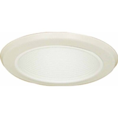 Air Tight Stepped Baffle 6.5 Recessed Trim Finish: White