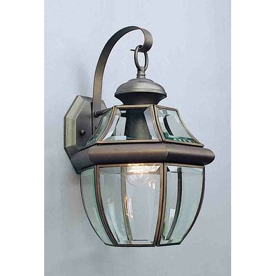 1-Light Flush Mount Finish: Polished Solid Brass