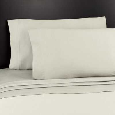 SoftTees Jersey Knit Sheet Set Size: King, Color: Cream