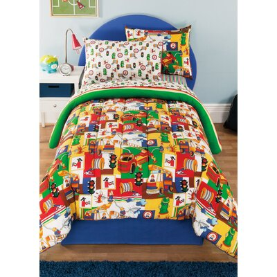 3 Alarm Bed-In-A-Bag Set Size: Twin