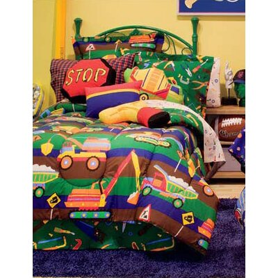 Tylers Toy Chest Bed-In-A-Bag Set Size: Twin