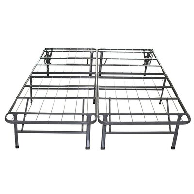 Innovative Bed Frame Mattress Foundation Size: King
