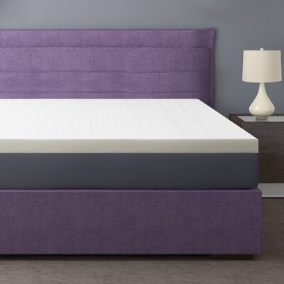 Premium 3 Ventilated Memory Foam Mattress Topper Size: Full