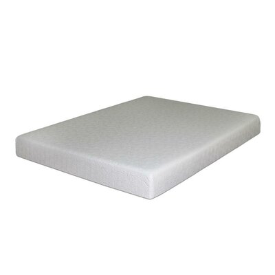 Best Price Quality 7 Gel Memory Foam Mattress and Base Foundation Set Mattress size: Queen