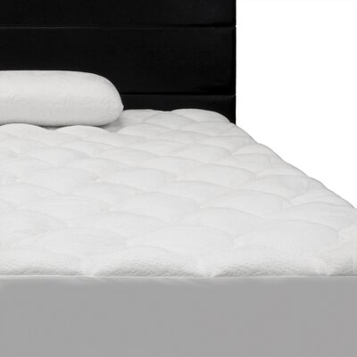 Comfort Ultra Quilted Down Alternative Mattress Pad Size: Queen
