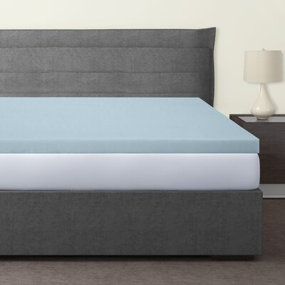 Gadson 3 Gel Memory Foam Mattress Topper Size: Queen