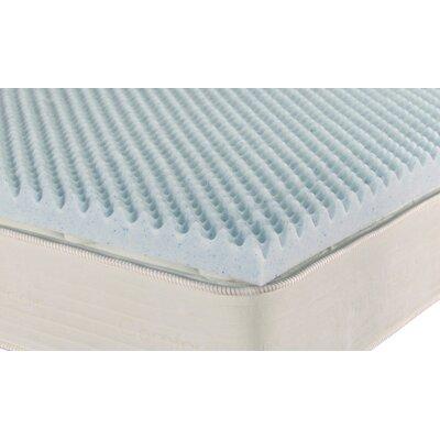 "Brooklyn Bedding iPedic 2"" Convoluted Gel Memory Foam Topper - Size: King at Sears.com"