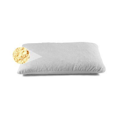 Plush Shredded Talalay Latex Pillow Size: Queen