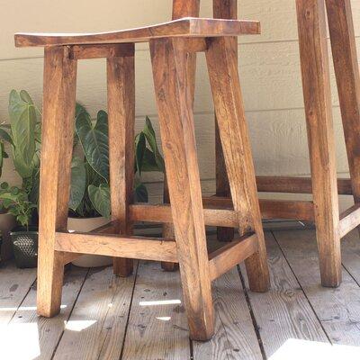 Timbergirl Acacia Bar Stool Seat Height Counter Bar
