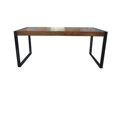 Sohan Dining Table Top Finish: Sheesham, Size: 79