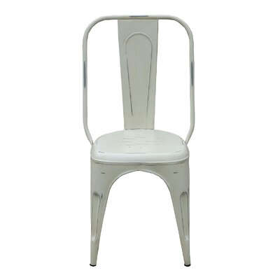 Side Chair Finish: White